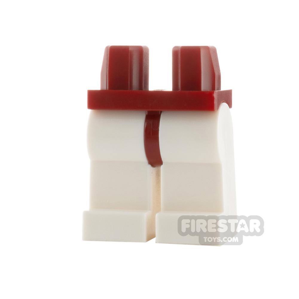 LEGO Minifigure Legs - Hips DARK RED - Legs