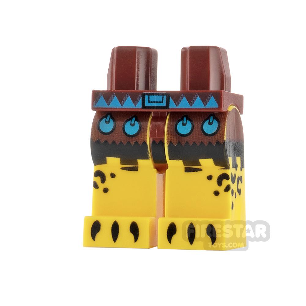 LEGO Minifigure Legs Aztec Warrior