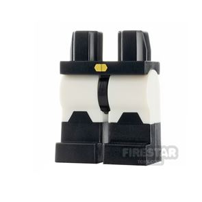 LEGO Minifigure Gold Buckle and Black Boots