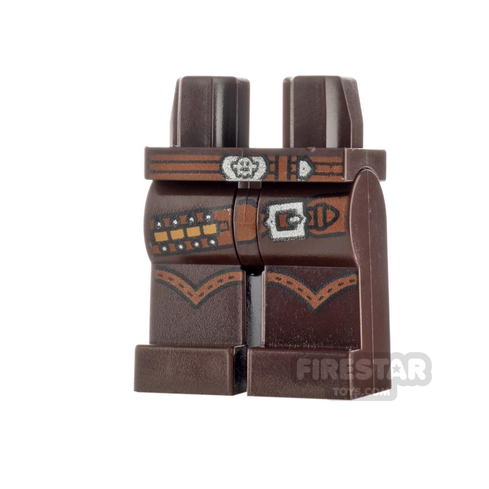 LEGO Minifigure Legs Bullets and Buckle