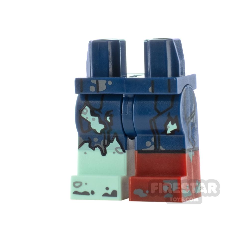 LEGO Minifigure Legs Zombie Captain America