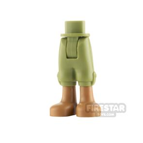 LEGO DP Minifigure Legs Cropped Trousers with Pockets