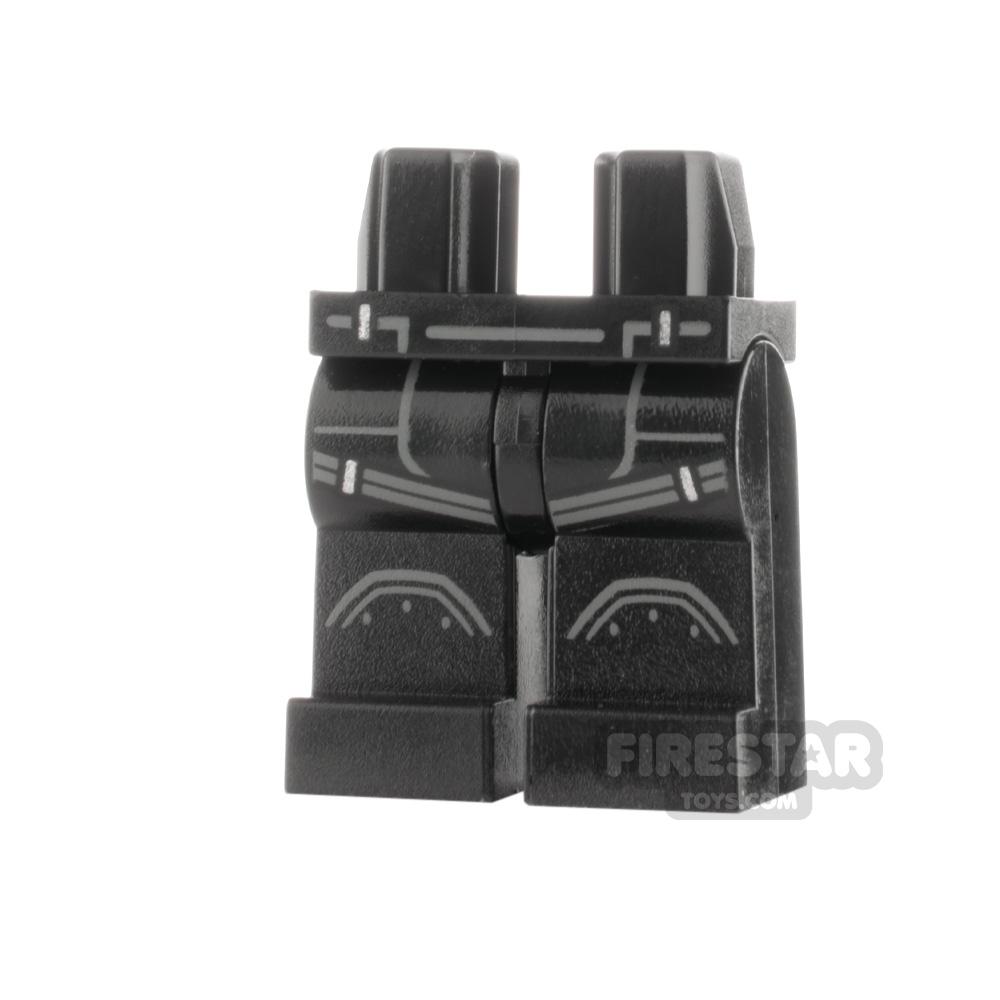 LEGO Minifigure Legs Armour with Buckles
