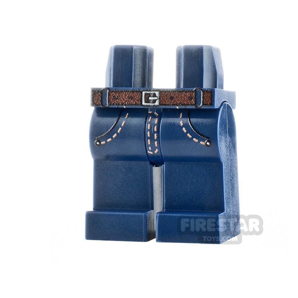 Custom Design Legs - Jeans - Dark Blue