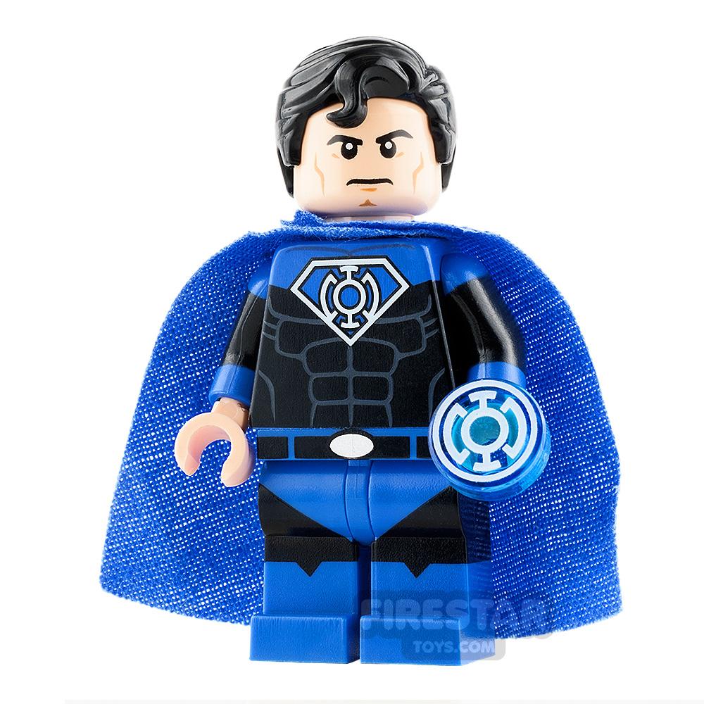 Custom Design Minifigure Superman Blue Lantern