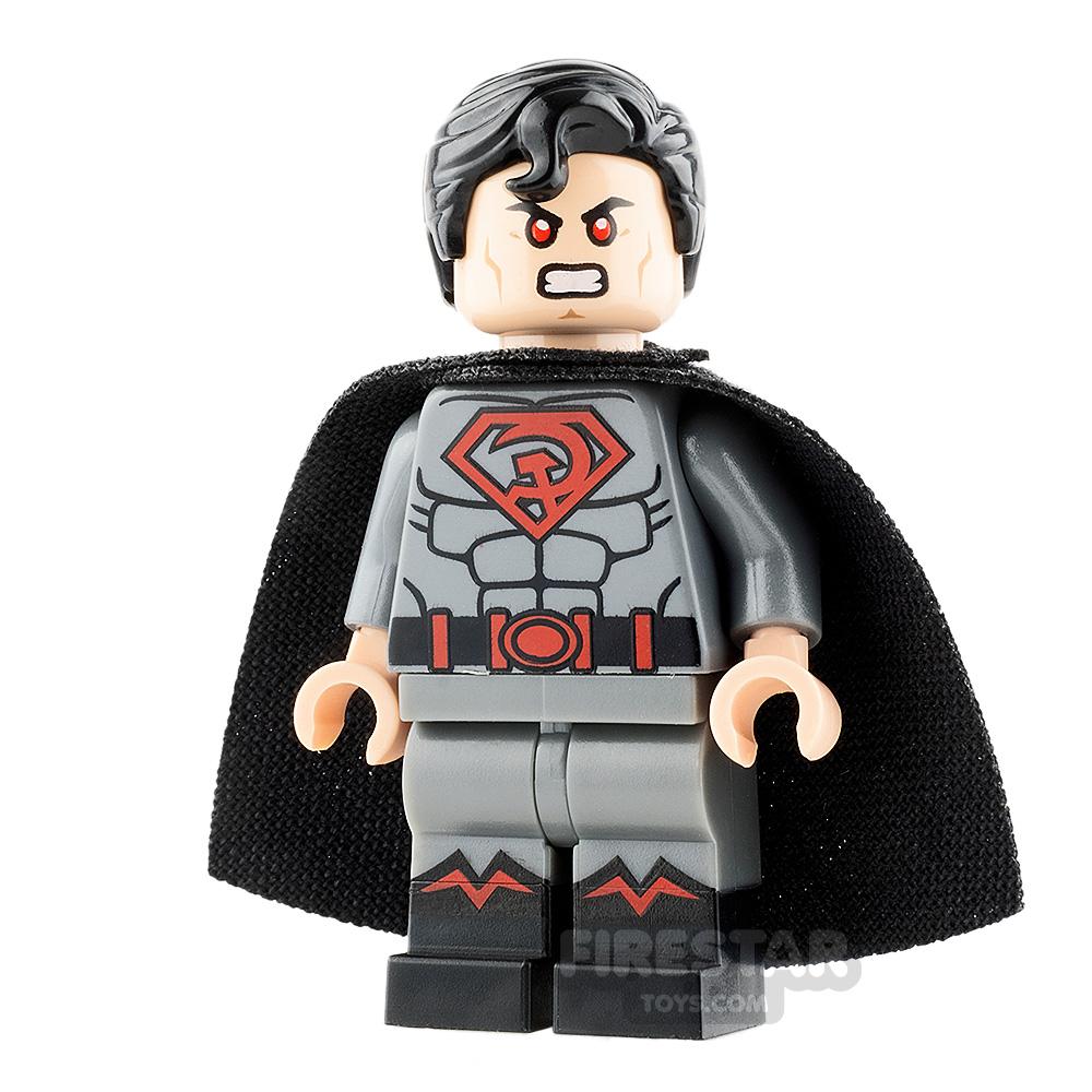 Custom Design Minifigure Superman Red Son