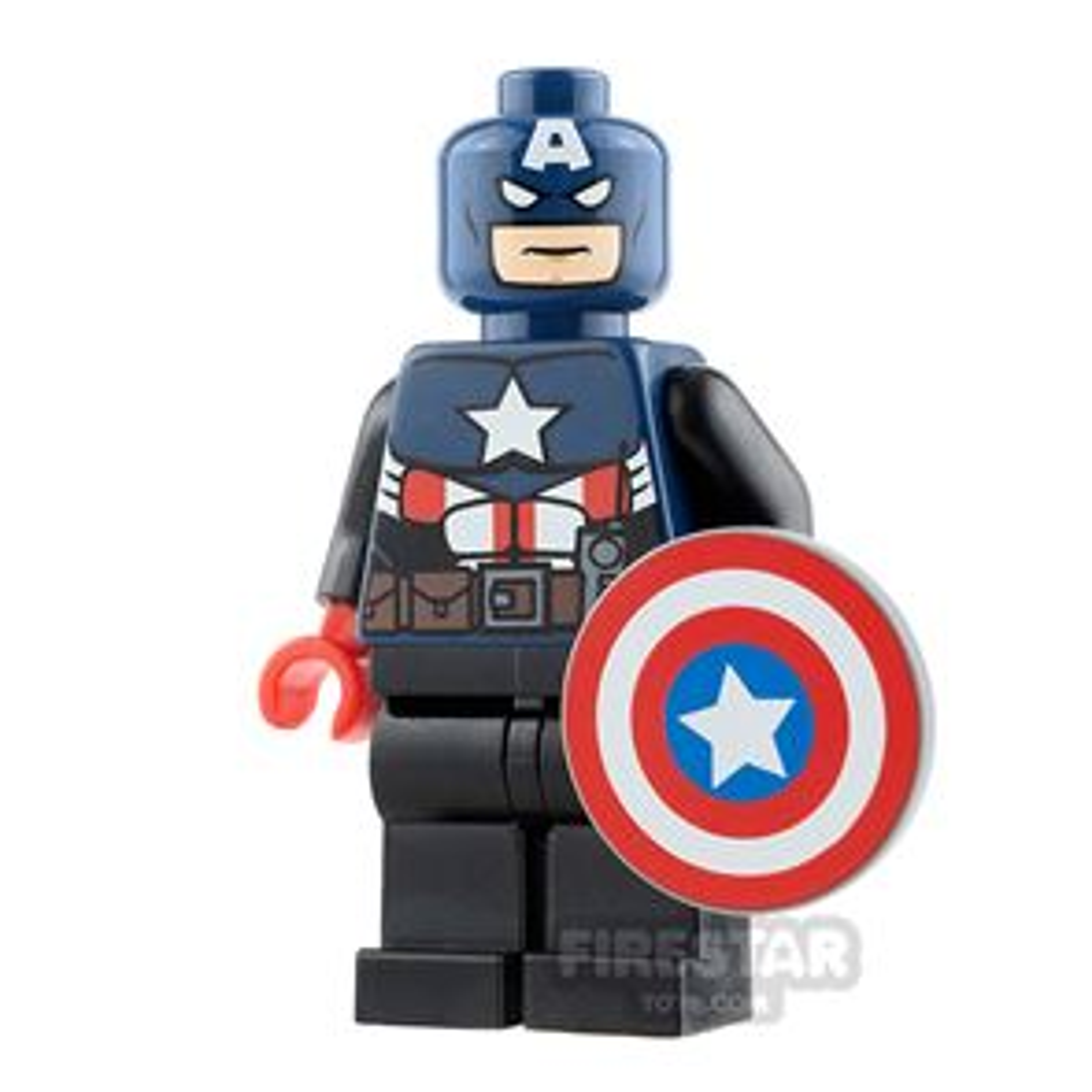 Custom Design Minifigure Captain America