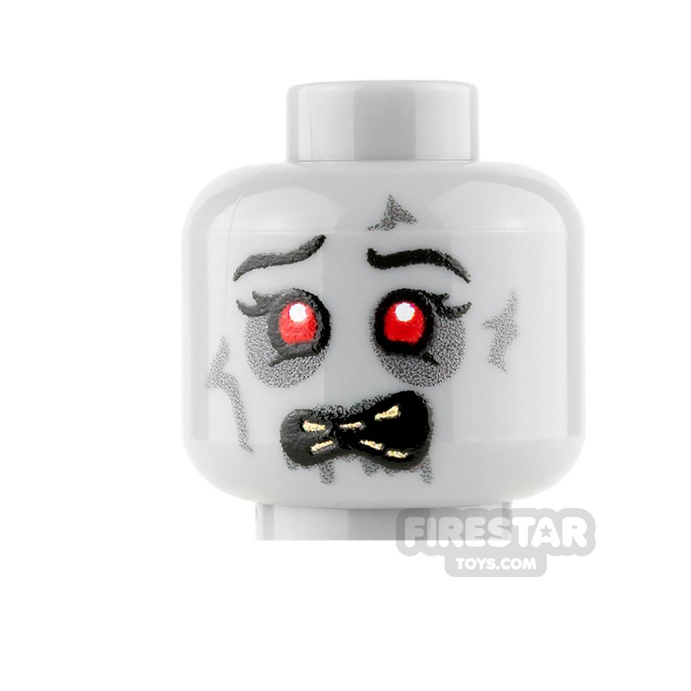 Custom Mini Figure Heads - Starving Zombie