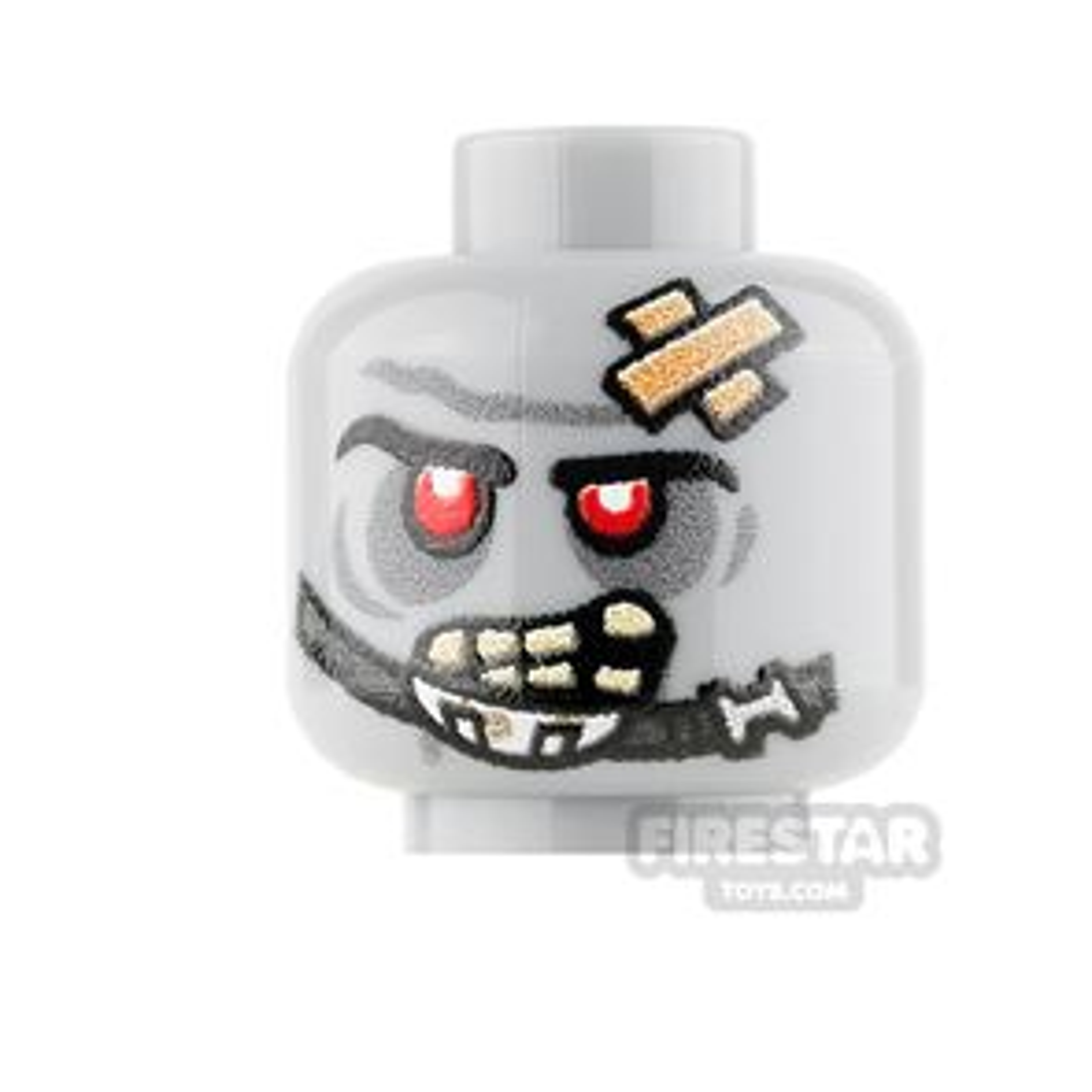 Custom Mini Figure Heads - Trooper Zombie