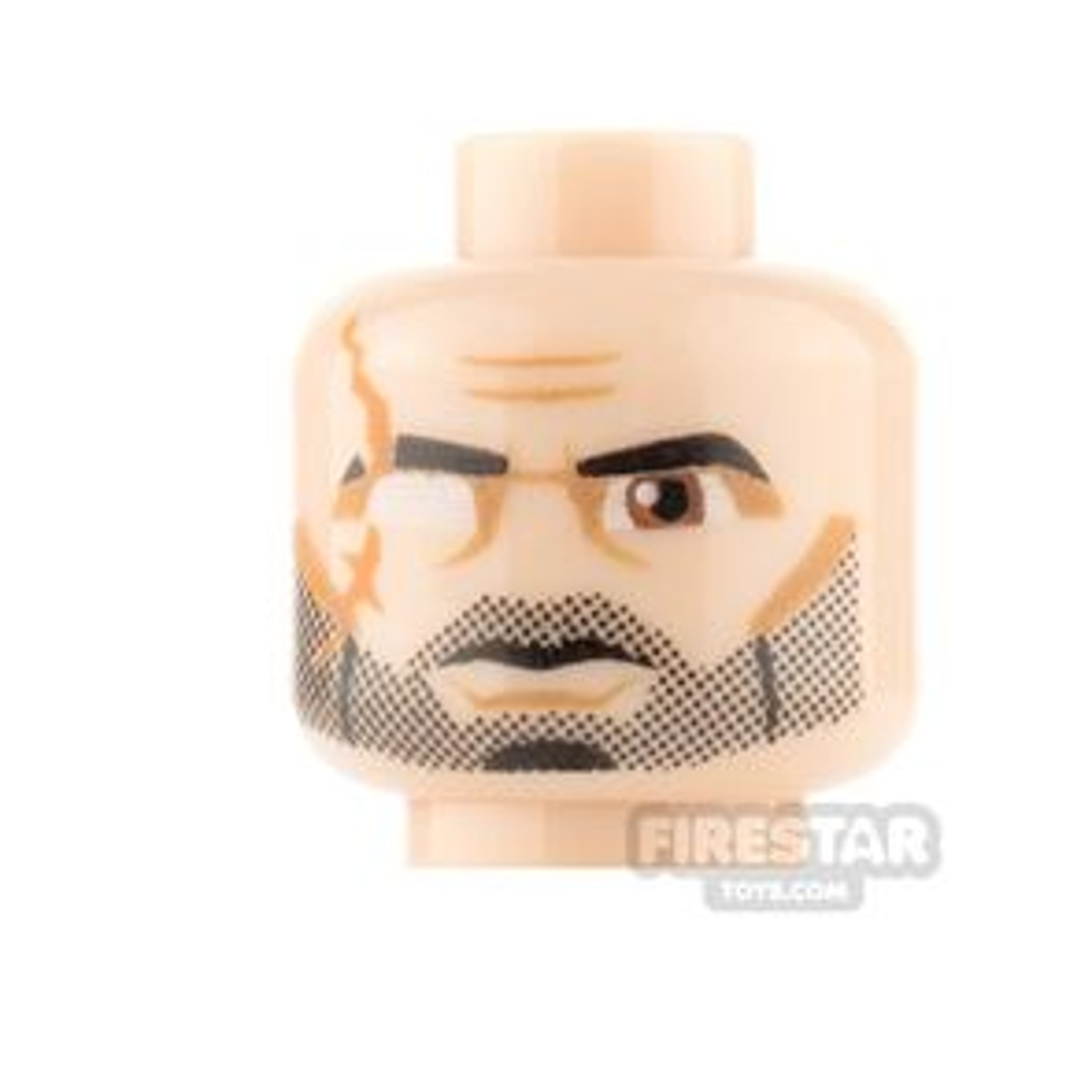 LEGO Mini Figure Heads - Clone Commander Wolffe