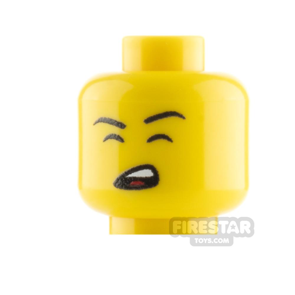 Custom Mini Figure Heads - Singing - Male