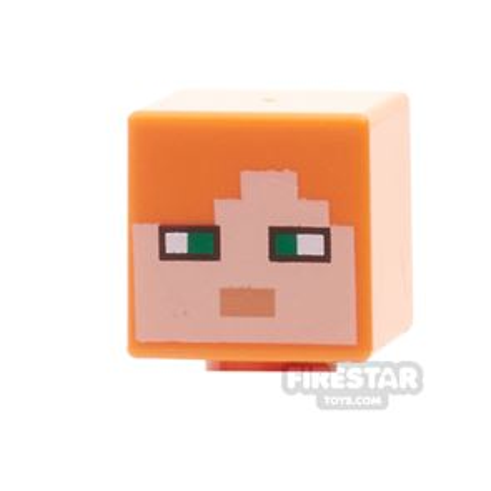 LEGO Mini Figure Heads - Minecraft Alex