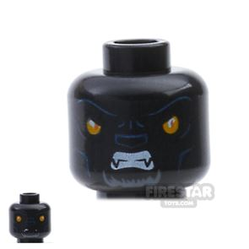 LEGO Mini Figure Heads - Tiger - Tormak