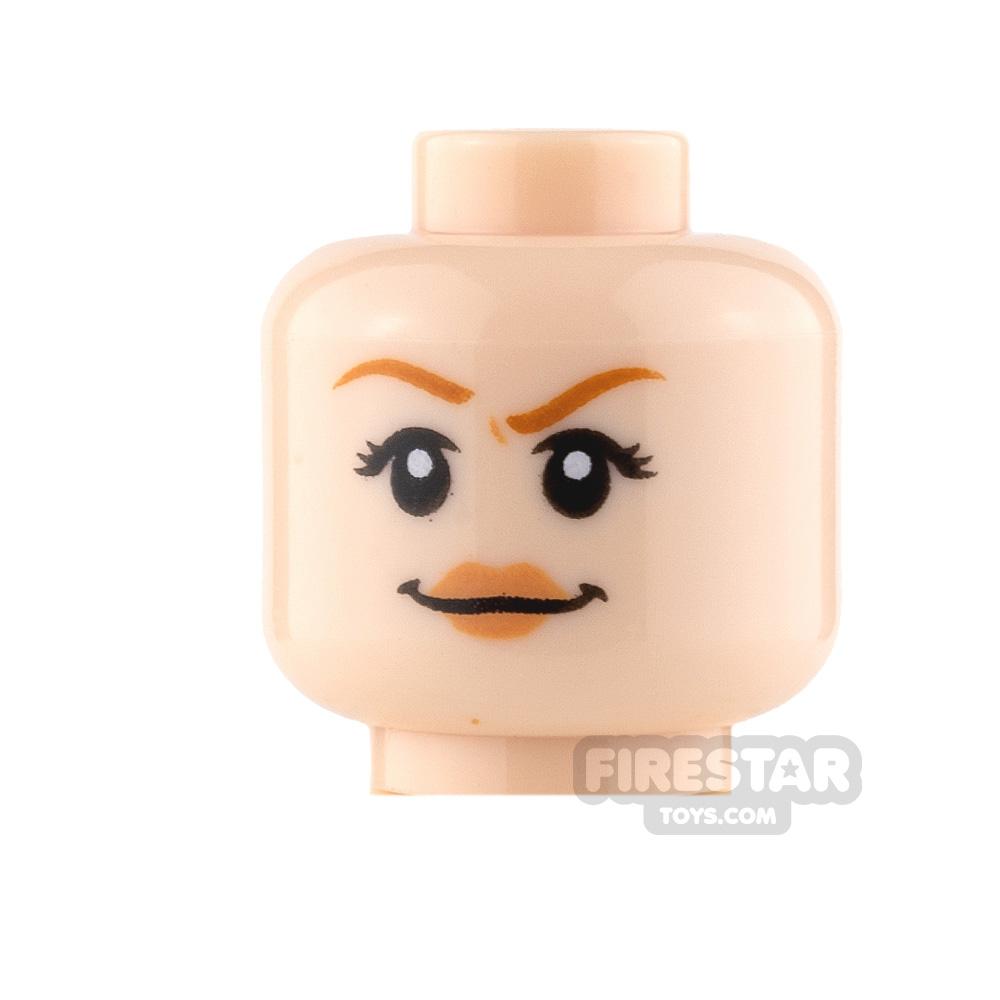 LEGO Mini Figure Heads - Smile and Scared