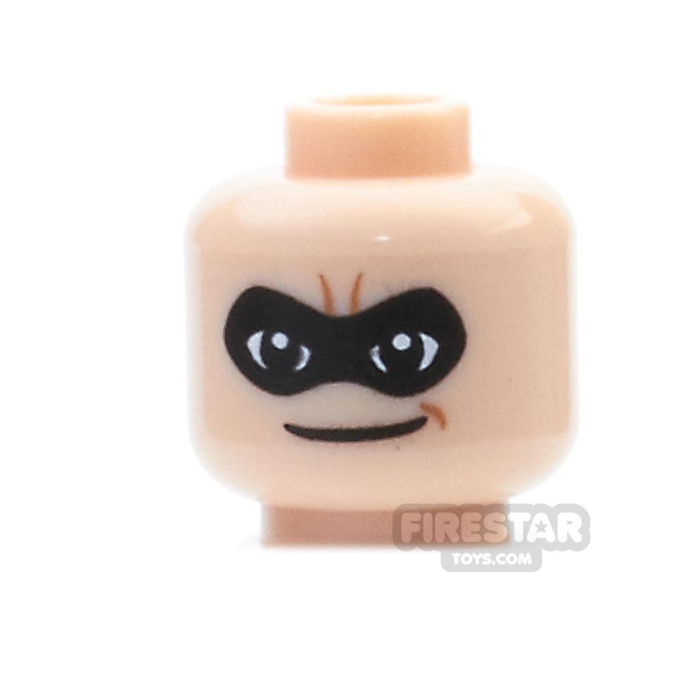 LEGO Mini Figure Heads - Mr Incredible