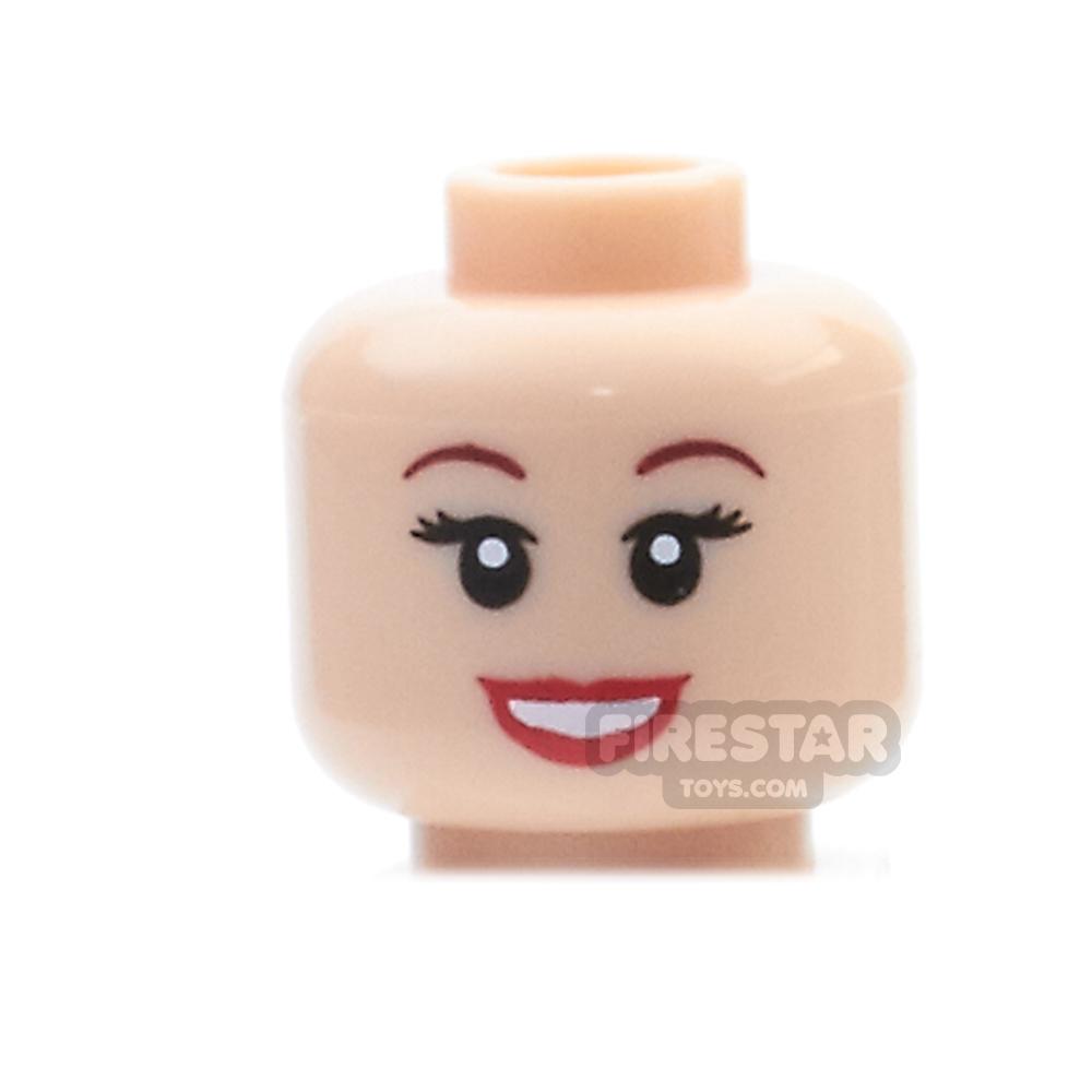 LEGO Mini Figure Heads - Ariel