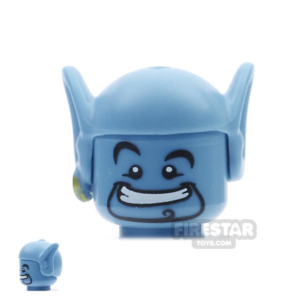 LEGO Mini Figure Heads - Aladdin Genie