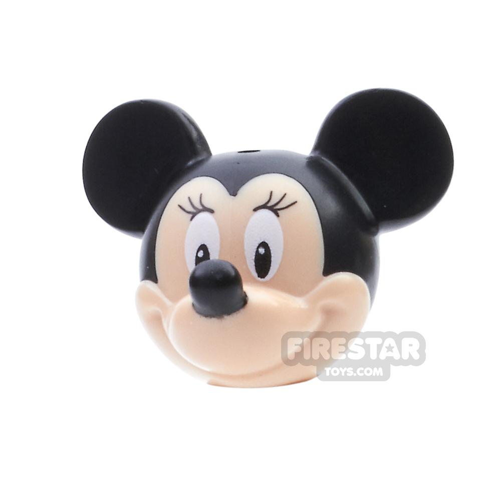 LEGO Mini Figure Heads - Minnie Mouse