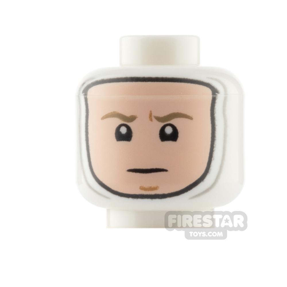 Custom Mini Figure Heads - Hipster Female - Light Flesh