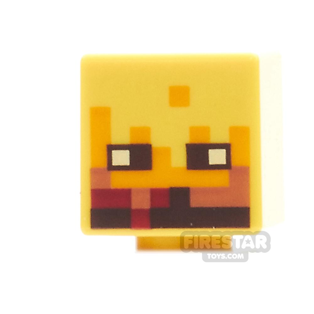 LEGO Mini Figure Heads - Minecraft - Blaze
