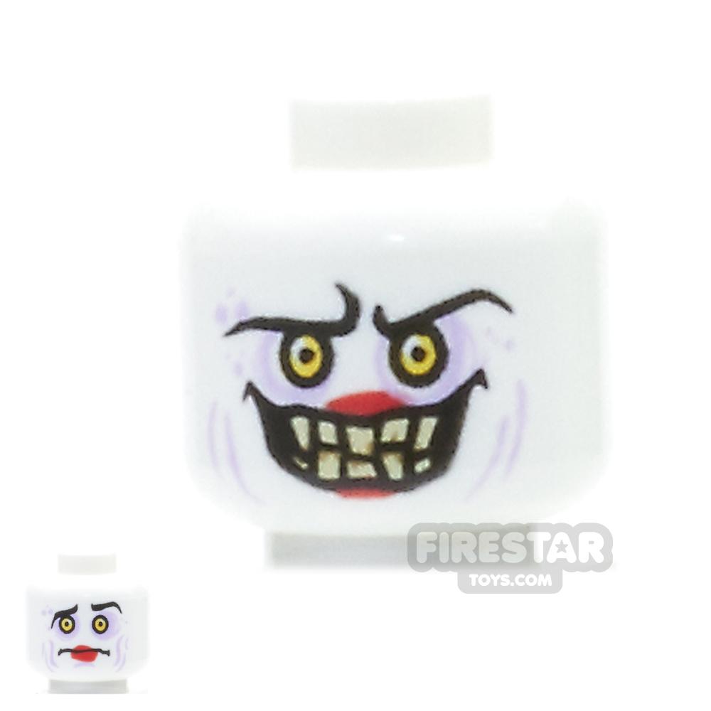 LEGO Mini Figure Heads - Jestro