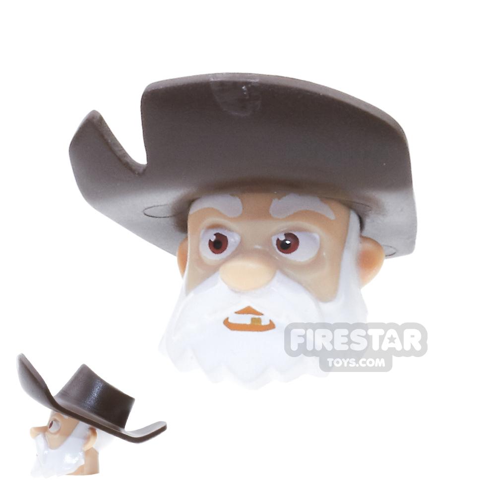 LEGO Mini Figure Heads - Toy Story - Stinky Pete