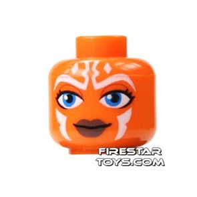 LEGO Mini Figure Heads - Ahsoka