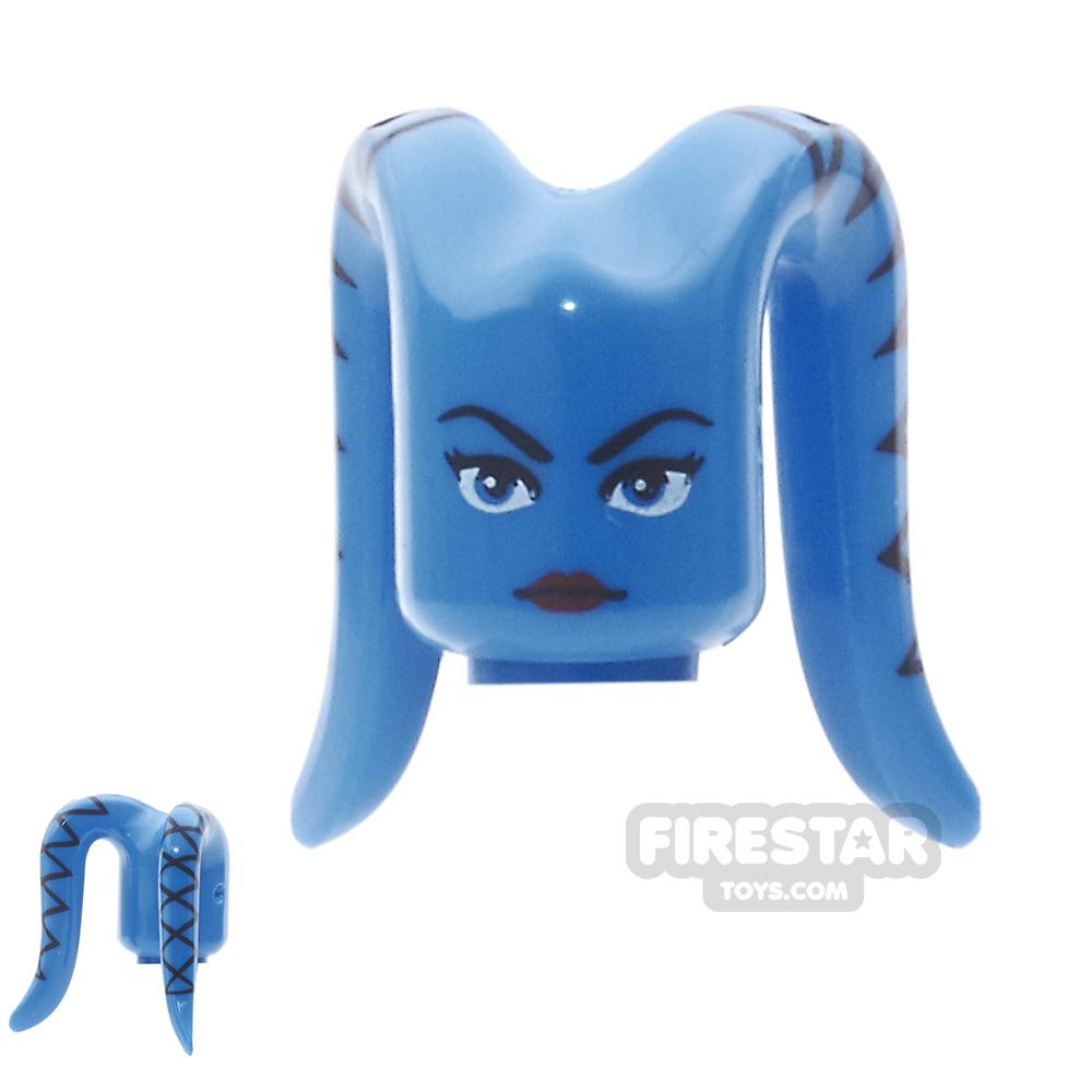 Arealight Mini Figure Heads - Ayl - Blue