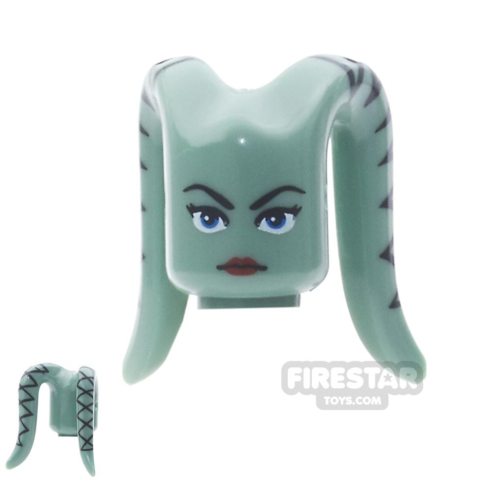 Arealight Mini Figure Heads - Ayl - Sand Green
