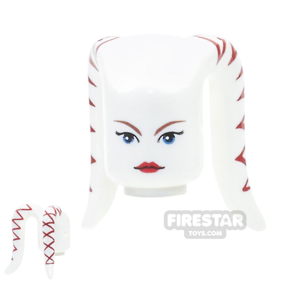 Arealight Mini Figure Heads - Ria - White