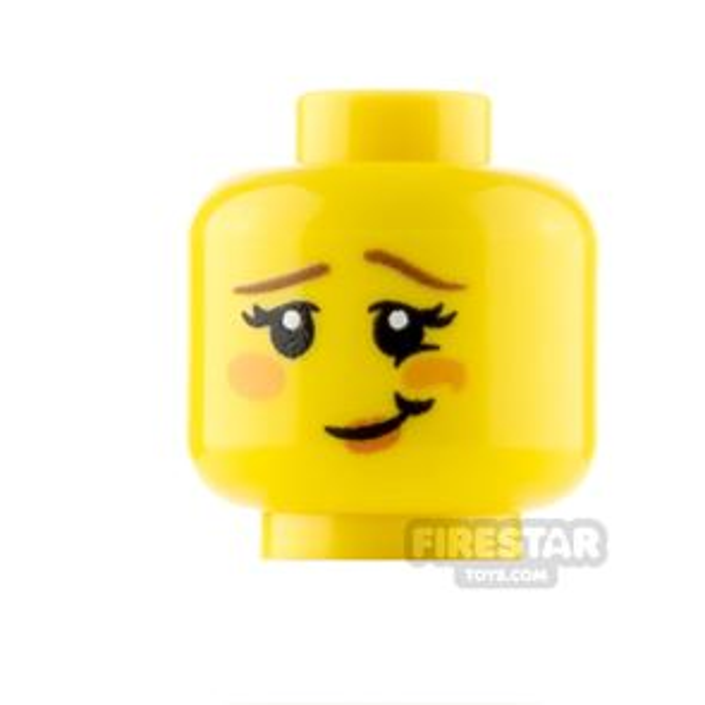 Custom Minifigure Heads In Love Female