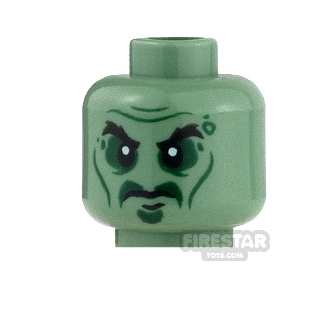 LEGO Mini Figure Heads - Ninjago Master - Yang
