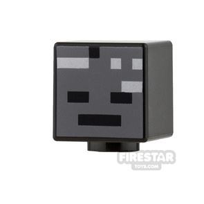LEGO Mini Figure Heads - Minecraft Wither 2
