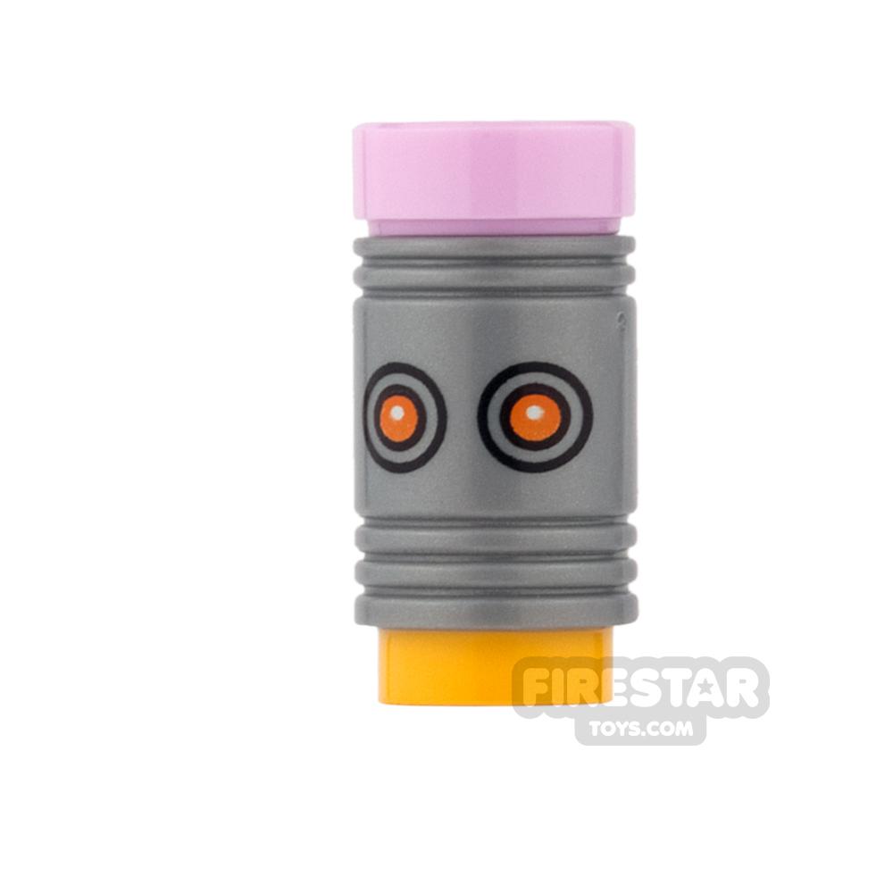 LEGO Mini Figure Heads - Batman - The Eraser