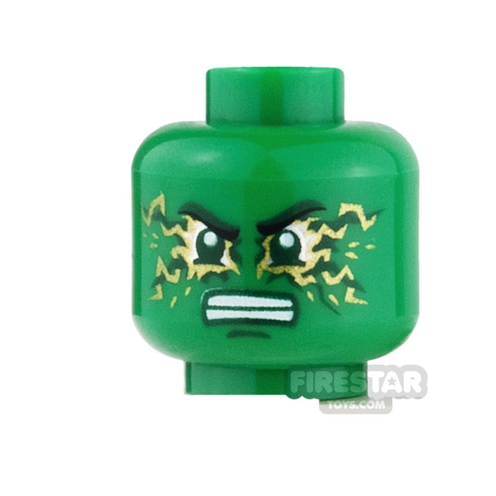 LEGO Mini Figure Heads - Lloyd - Airjitzu