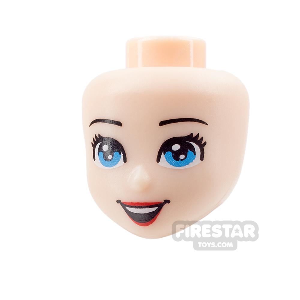 LEGO Disney Princess Mini Figure Heads - Blue Eyes and Open Smile