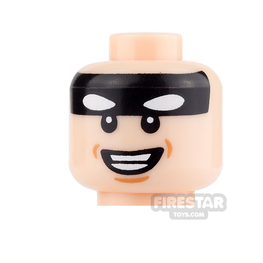LEGO Mini Figure Heads - Batman - Smiling