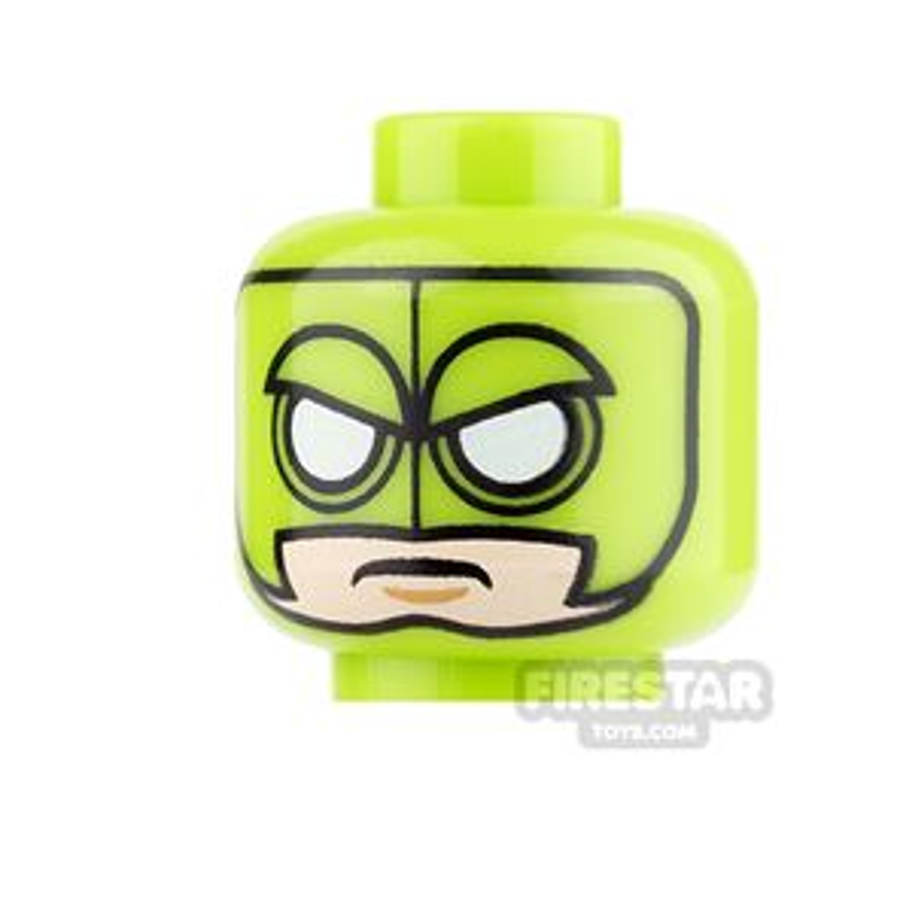 LEGO Mini Figure Heads - Batman - Killer Moth
