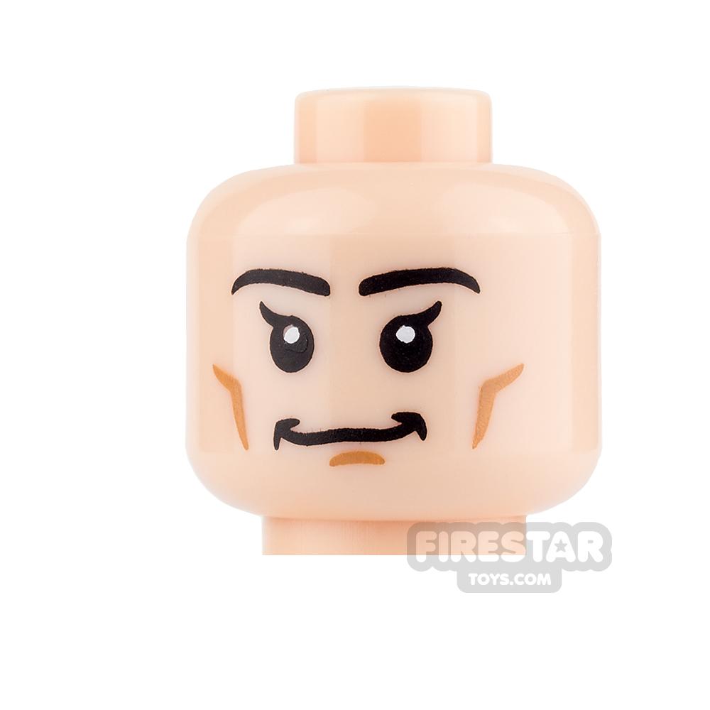 LEGO Mini Figure Heads - Smile and Cheek Lines