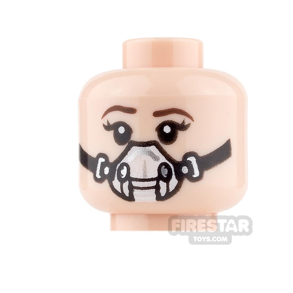 LEGO Mini Figure Heads - Princess Leia - Smile / Breathing Mask