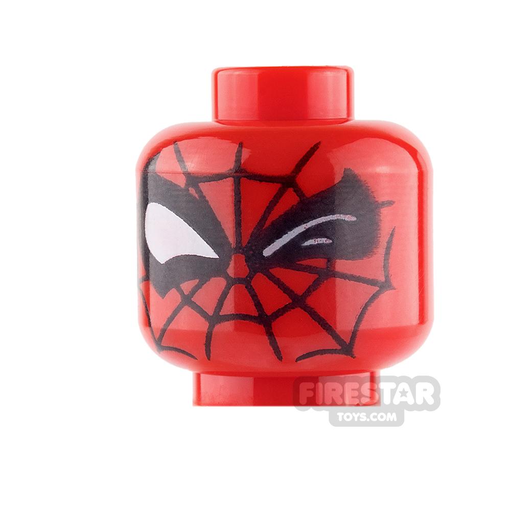LEGO Mini Figure Heads - Spider Man - Winking