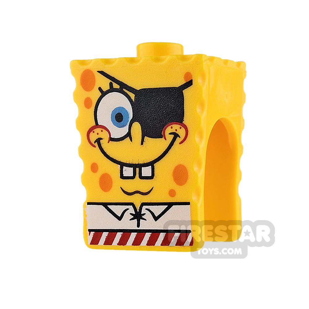 LEGO Minifigure Heads SpongeBob SquarePants Pirate