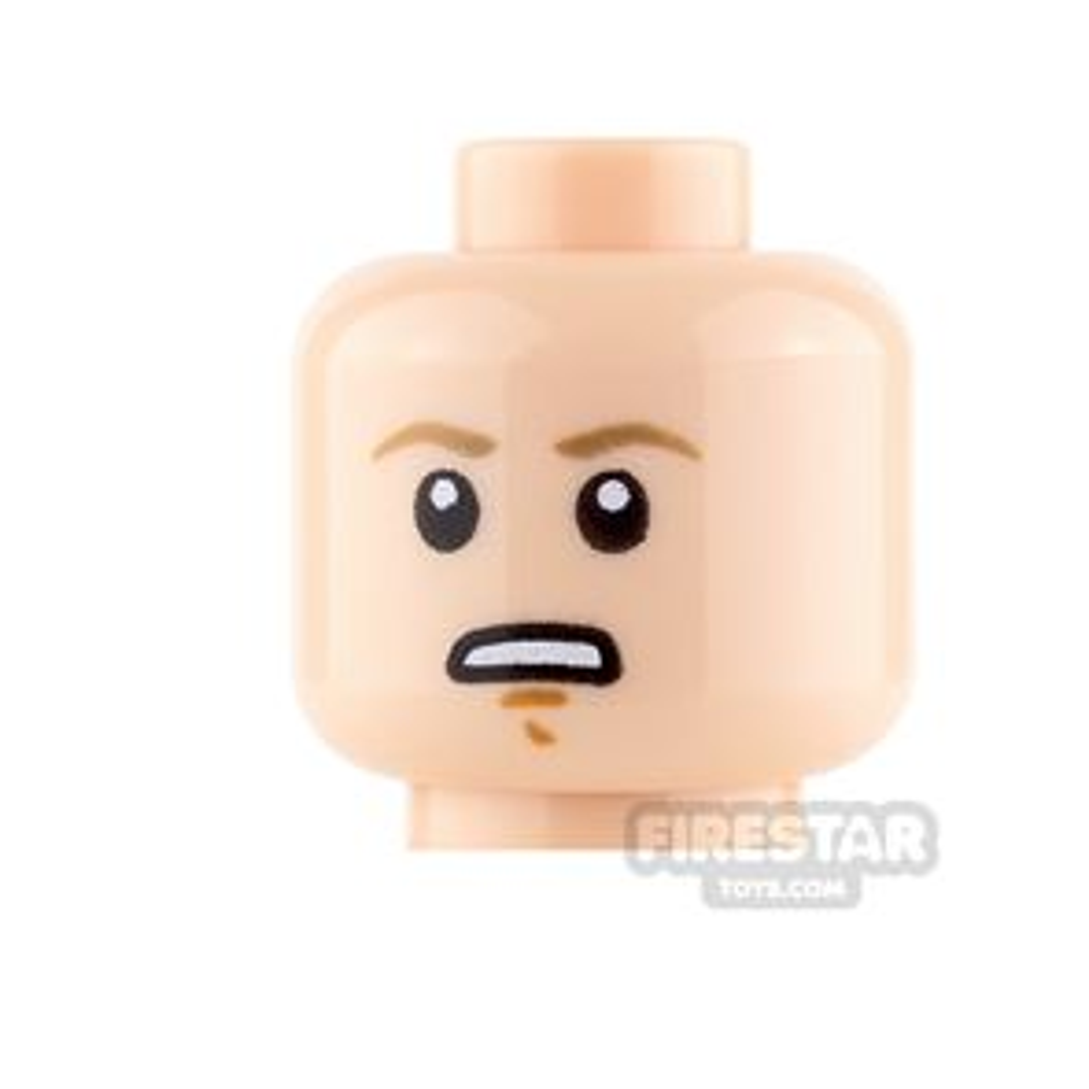 LEGO Mini Figure Heads - Luke Skywalker - Determined / focused