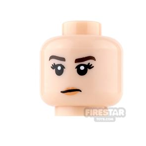 LEGO Mini Figure Heads - Smile and frown
