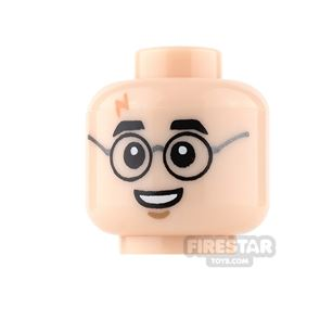 LEGO Mini Figure Heads - Harry Potter with Grin
