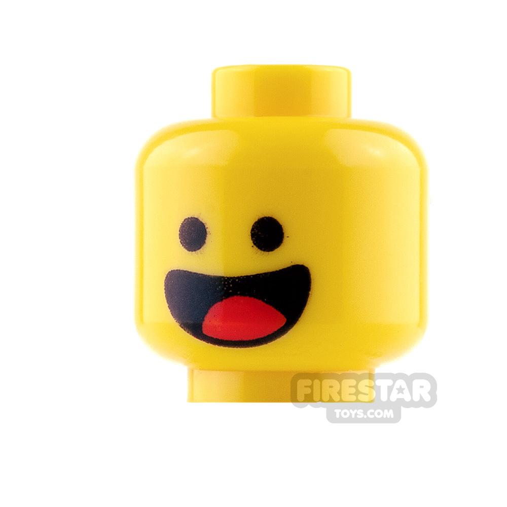 LEGO Mini Figure Heads - Benny - Smile and Scared