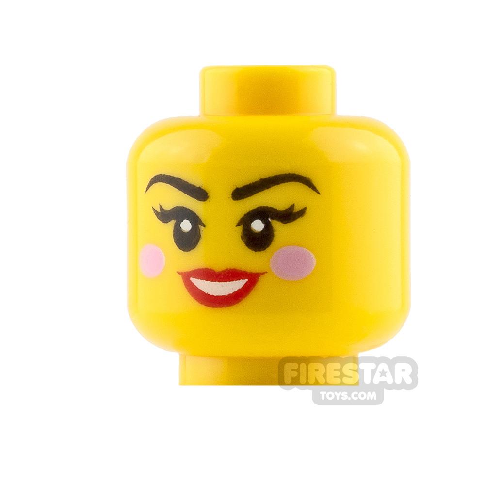 LEGO Mini Figure Heads Winking