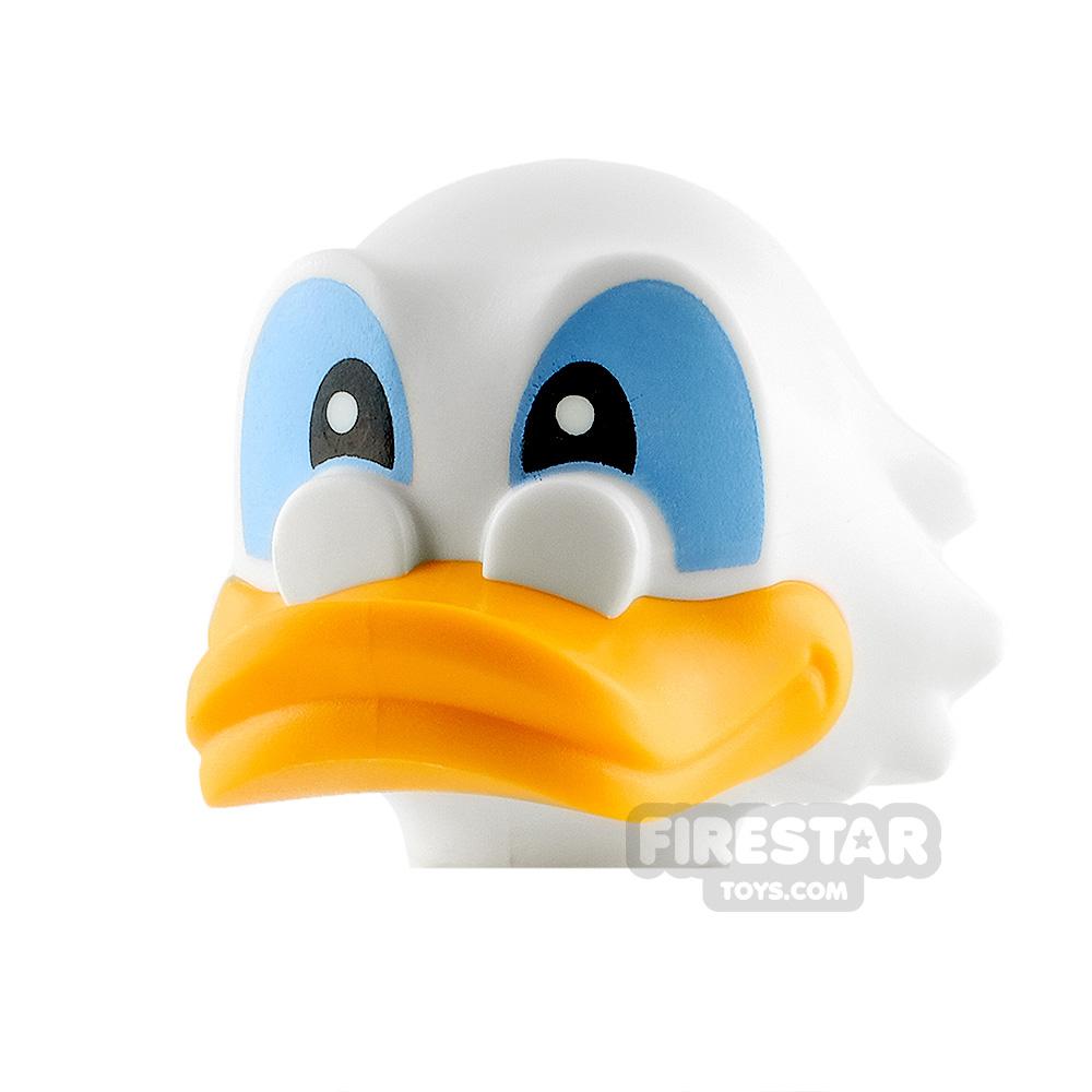 LEGO Minifigure Heads Scrooge McDuck
