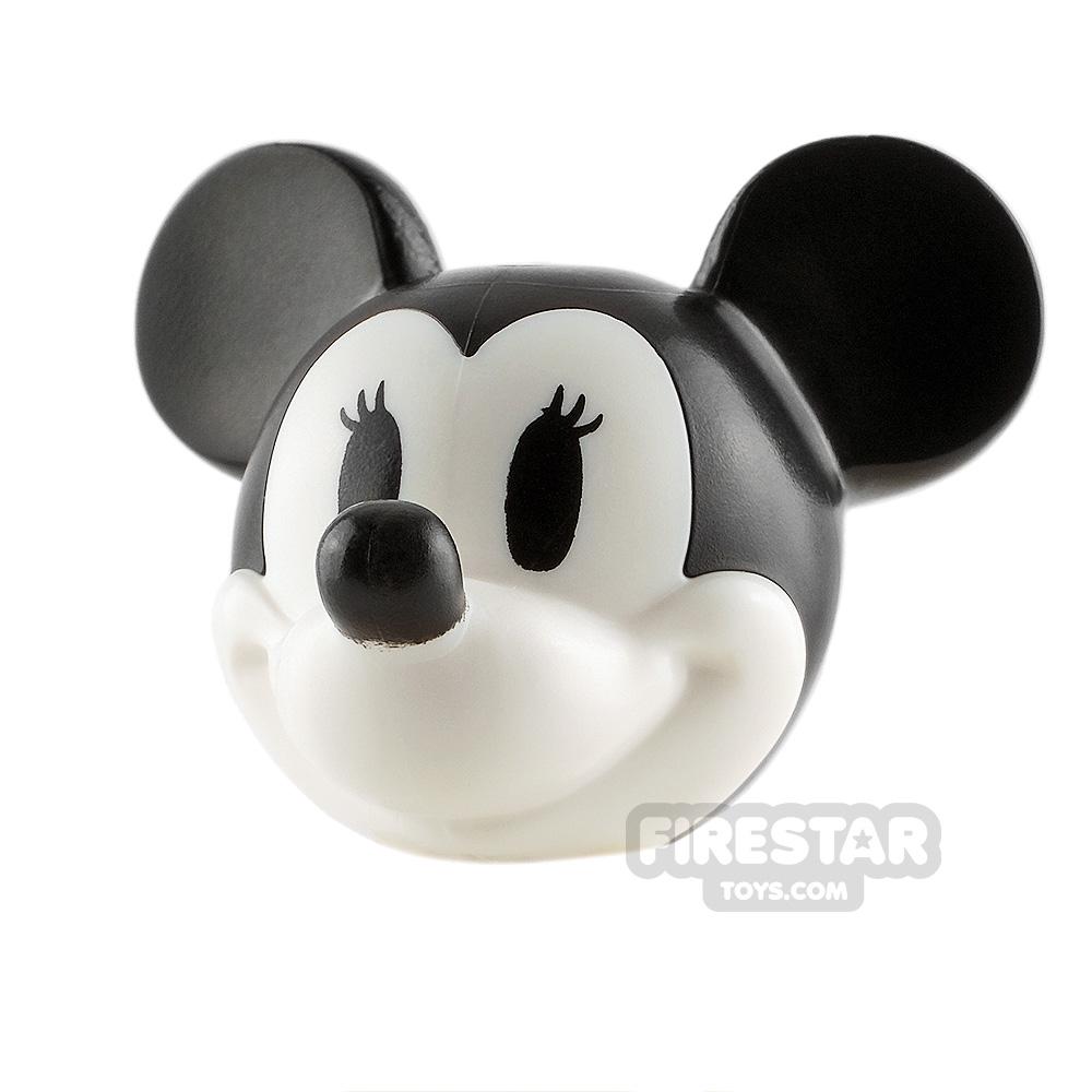 LEGO Minifigure Heads Minnie Mouse