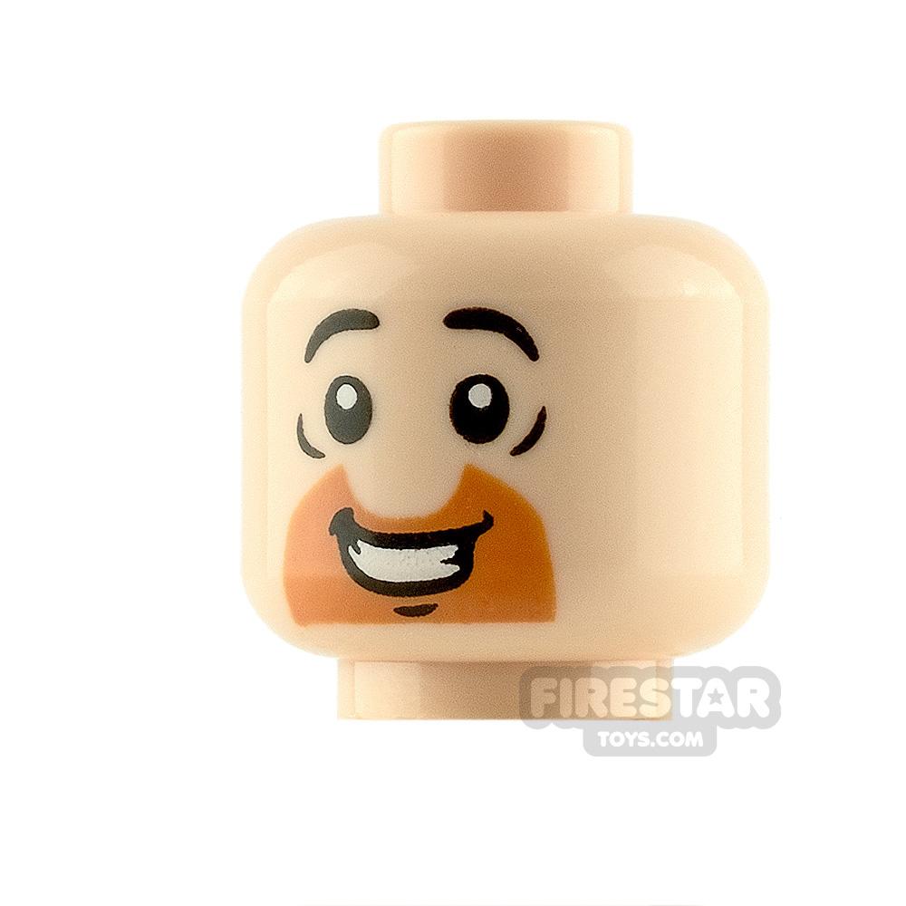 LEGO Minifigure Heads Half Circle Beard